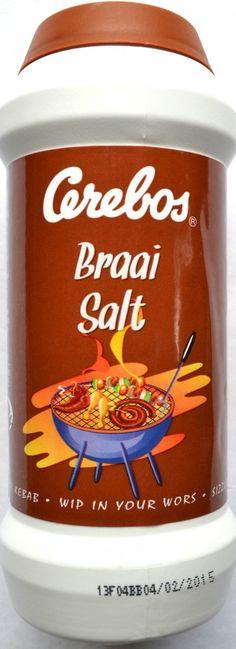 Cerebos Braai Salt 250g $6.80. www.satooz.com.au