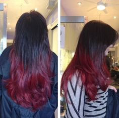 What i don't want my Ombre to look like