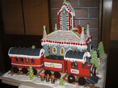 All sizes | 2013 12 Dec Gingerbread Houses 123 | Flickr - Photo Sharing!