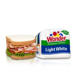Wonder® Light White bread- With one-third fewer calories than regular white bread, adding this soft and delicious bread into your diet is a great way to save calories!