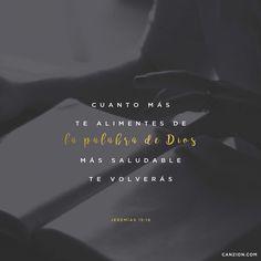 «Cuando descubrí tus palabras las devoré; son mi gozo y la delicia de mi corazón, porque yo llevo tu nombre, oh Señor Dios de los Ejércitos Celestiales». —Jeremías 15:16