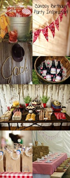 Thanksfun cowboy party ideas awesome pin