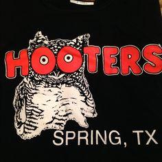 Hooters uniform tank and dolfin shorts! Black xs Hooters tank & xs orange shorts uniform in good condition Tops Tank Tops