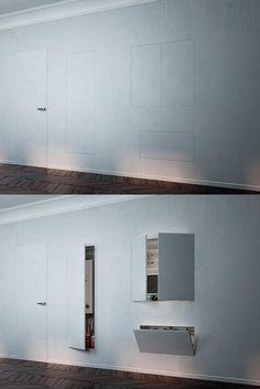 Trasformare la casa con soluzioni intelligenti e #salvaspazio via @Cosedi_Casa http://www.cosedicasa.com/sfruttare-bene-lo-spazio-con-porte-e-contenitori-a-scomparsa-12447/…