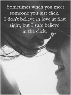 I believe in click!