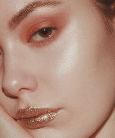 nacré cuivrée ⭐️ make up maquillage face visage