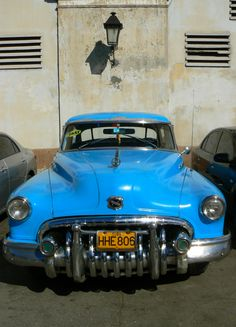 Old car in Havana, Cuba...Mom vacationed here....casino, dancing, food, drink repeat!!