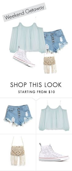 """""""Weekend Getaway Outfit"""" by mrsgomez-343 on Polyvore featuring Elizabeth and James, Converse and weekendbeauty"""