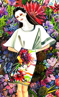 Preen Resort 2013 - Sunny Gu #fashion #illustration #fashionillustration