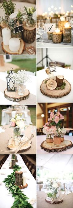 rustic wedding centerpiece ideas with tree stumps wedding .- rustikale Hochzeit Herzstück Ideen mit Baumstümpfen Hochzeitsideen rustic wedding centerpiece ideas with tree stumps wedding ideas stumps ideas - Rustic Country Wedding Decorations, Rustic Wedding Centerpieces, Wedding Arrangements, Floral Arrangements, Pallet Wedding, Diy Wedding, Wedding Ideas, Wedding Rustic, Tree Wedding