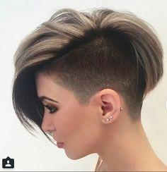 Beau mélange de belles coupes de cheveux courts