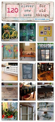 Discover over 120 New Uses for Old Things at www.mrshinesclass.com
