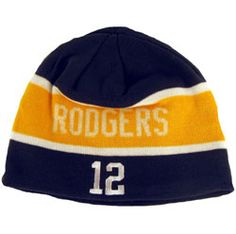 5e9a9f6a102 Green Bay Packers Aaron Rodgers Winter Hat