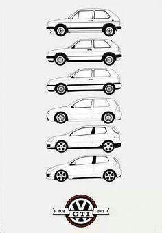 VW Golf Mk2 blueprint schema #VolkswagenGolfMk1