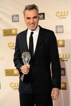 "Daniel Day-Lewis, winner of Best Actor for ""Lincoln"" at the 18th Annual Critics' Choice Movie Awards"