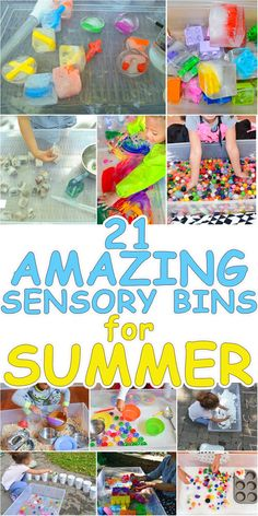 21 Amazing Sensory Bins for Summer – HAPPY TODDLER PLAYTIME
