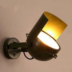 80.00$  Buy here - http://aliwj2.worldwells.pw/go.php?t=32660099954 - Novelty Guards helmet wall lamp sconce Restaurant Bar Cafe light Loft Iron Wall Lamp Aisle Wall mounted led fixture Arandela 80.00$