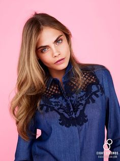 Cara Delevingne for 8ight seconds S/S 2013