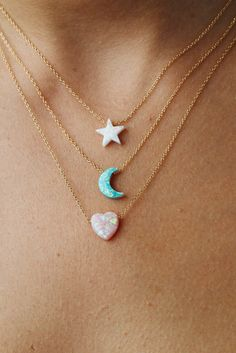 Opal 'Dream' Moon Charm | 'The Quest of Hayley Starr'
