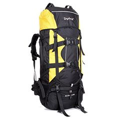 Camping Hiking Outdoor backpack bag large capacity waterproof tear resistant outdoor backpack *** Startling review available here  : Backpacking gear
