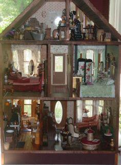 A Miniature dolls' house bordello - I find the whole idea hysterically funny for some reason.