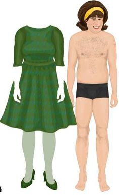Virtual Paper Dolls - Dress Up The Olsens, Paris, John Travolta http://www.trendhunter.com/trends/dress-up-the-olsen-twins-paris-hilton-and-john-travolta-virtual-paper-dolls