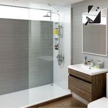 1000mm - 8mm - Premium EasyClean Wetroom Panel