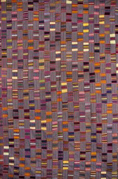Africa I Details from a strip woven cloth from the Ewe people of Togo I Cotton, locally woven and dyed African Textiles, African Fabric, African Art, African Patterns, Textile Texture, Textile Art, Fabric Art, Fabric Design, Stoff Design