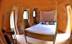 Tribewanted, John Obey Beach, Sierra Leone, Africa: Inside an Earth Dome (Image: © Tribewanted)