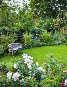 Jo Thompson Landscape & Garden Design - House & Garden, The List - Luxury Garden Garden Design Plans, Cottage Garden Design, Modern Garden Design, Landscape Design, House Landscape, Modern Design, Cottage Garden Patio, Contemporary Garden, Small Gardens