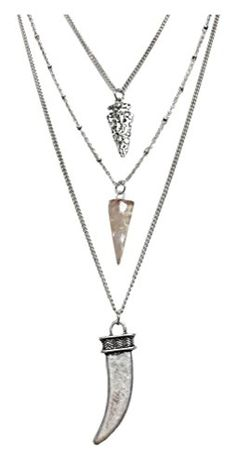 Necklaces & Pendants Generous Silver Feather Vintage Style Bohemian Mexican Gypsy Tibet Tassel Necklace Jewelry & Watches