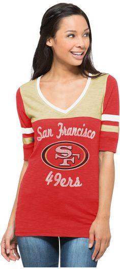'47 Brand San Francisco 49ers NFL Women's Gameday Debut Shirt