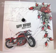 Stamps - North Coast Creations King of the Road, Roses