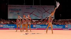 Group Italy 5 Ribbons Qual / AA World Championships Stuttgart 2015