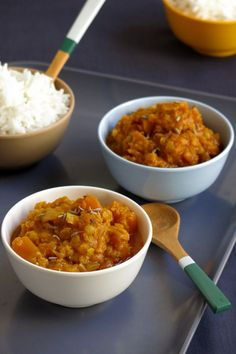 Dahl de lentilles corail et courge butternut Easy Cooking, Healthy Cooking, Healthy Eating, Clean Eating, Indian Food Recipes, Vegetarian Recipes, Healthy Recipes, Lentils And Quinoa, I Want Food