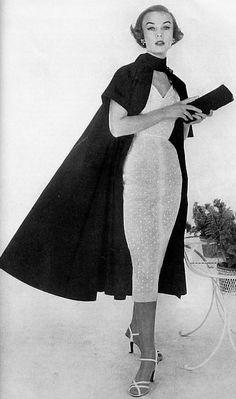1954 Dress and Cloak