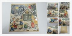 #Vintage #AdventCalendar #Christmas #Holiday #gotvintage #vintageChristmas #angels