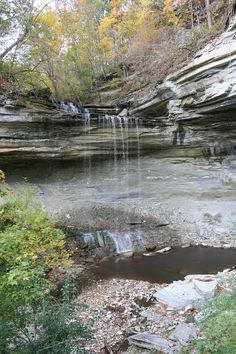 Clifty Falls State Park, an Indiana State Park located nearby Madison