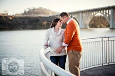 Maternity pictures at Volunteer Landing by Amanda May Photos