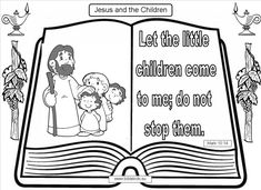 let the little children come to me...