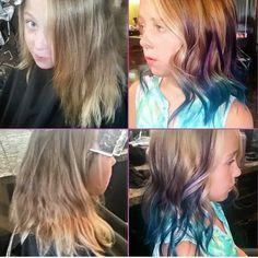 Fun beautiful color by @bradeejo #fun#haircolor #pravanavivids #beautiful #hair #love #amazing