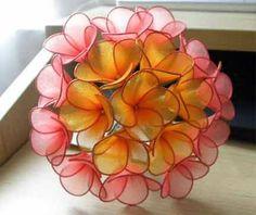 Nylon flowers!