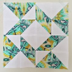 Breathtaking HST Quilt Blocks -a collection in brilliant colors!