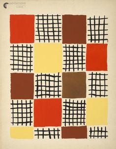 Sonia Delaunay (Ukrainian-French, 1885 – 1979), Compositions, couleurs, idées