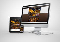 Estudo e projeto de design do site Engenho Bar e Choperia www.engenhochoperia.com.br