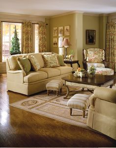 Nice Highland House Furniture: 3040 60   GLOUCESTER LOVESEAT   SKIRTED VERSION
