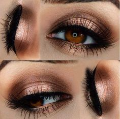 Makeup ideas for brown eyes