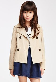 Double-Breasted Trench Coat (Kids) | FOREVER21 girls | #f21kids