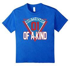 Kids Boys 1 Year Old Birthday T Shirt 1st Birt