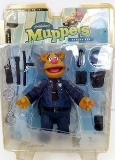 Palisades Muppets Fozzy Patrol Bear Figure Series Six #Palisades